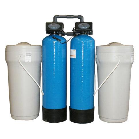 Ipari vízlágyító berendezések mennyiségvezérelt