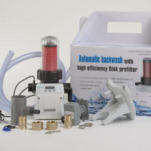 DFA-1A Szűrőtárcsás vízszűrő automata visszamosatással