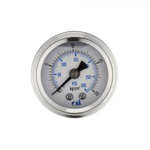 """1/8"""" hátsó csatlakozású nyomásmérő óra"""